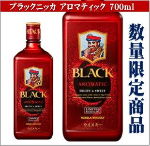 アサヒブラックニッカアロマティック700ml【ウイスキー】【アルコール分40%】【専用箱入り】【数量限定】