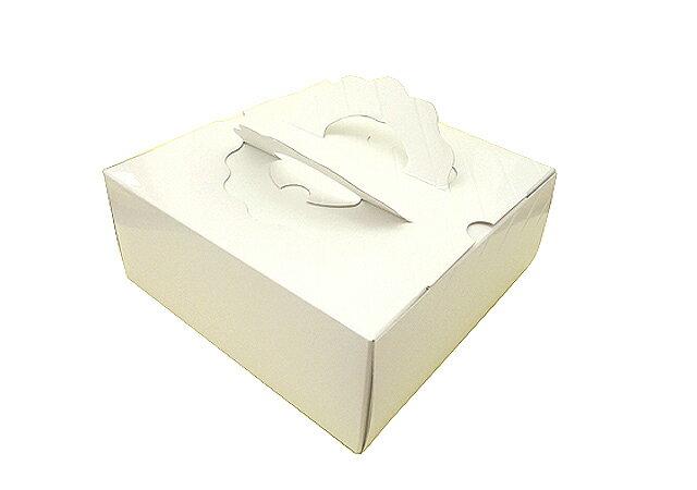【ケーキ箱】ガトーケース白無地 5寸