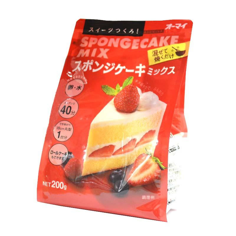 日清製粉 オーマイ スイーツつくろ!『スポンジケーキミックス』