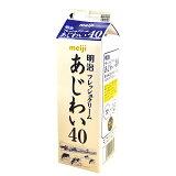 【注文後取り寄せ商品】【生クリーム】明治フレッシュクリームあじわい40(乳脂肪分40%) 1L