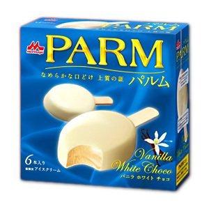 PARM パルム バニラホワイトチョコ 6本入×6個 (冷凍)