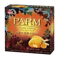 森乳 PARM(パルム)ピュレコーティング オレンジ&バニラ 6個入 ×6個