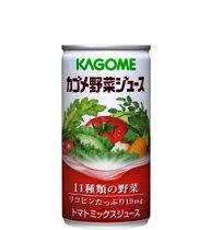 カゴメ野菜ジュース 190g缶 30本入