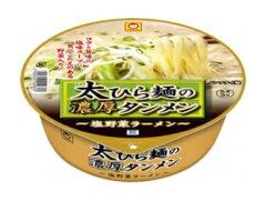 マルちゃん 太ひら麺の濃厚タンメン 12個入