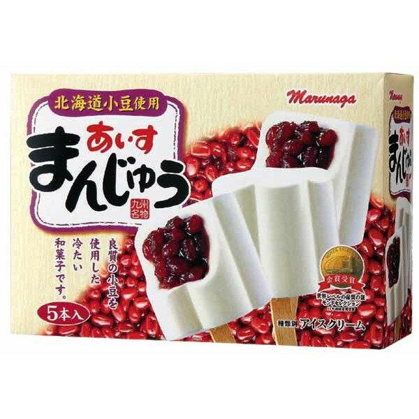丸永製菓あいすまんじゅうマルチ5本入×6ボックス