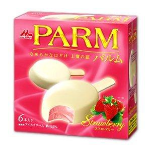 PARM パルムストロベリ ホワイトチョコー6本入 ×6個