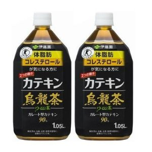 [2CS] 伊藤園 2つの働き カテキン烏龍茶 (1.05L×12本)×2箱
