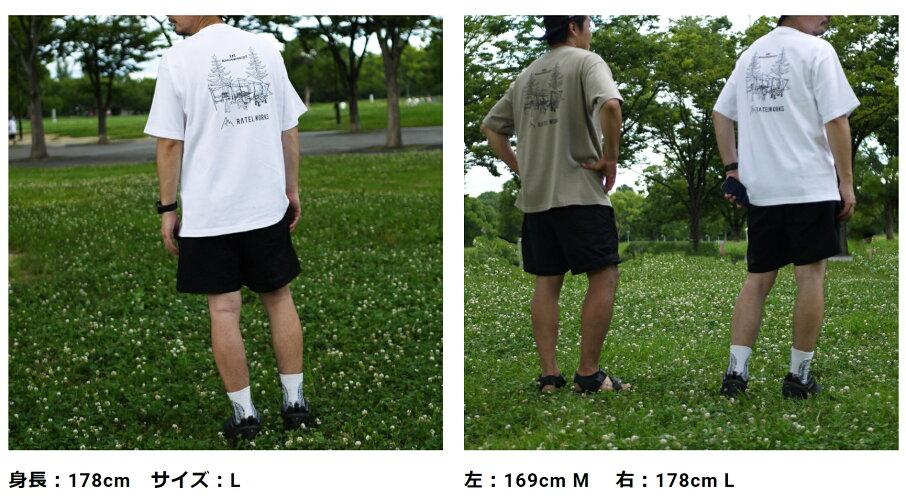 RATELWORKSラーテルワークス1THANNIVERSARYT-SHIRT(1周年記念Tシャツ)メンズ&レディース男女兼用(RWS0046)
