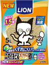 ライオン商事(株)ニオイをとるおから砂 5L×6個【smtb-t】