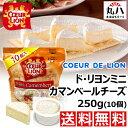 ★冷蔵便 無料発送♪ COEUR DE LION ミニ カマンベールチーズ 250g(10個)★ チーズ ドリヨン カマンベール ワイン コストコ costco
