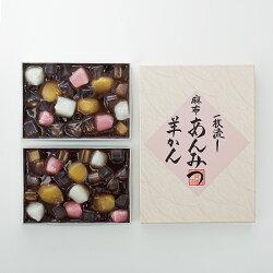 [東京]〈麻布昇月堂〉一枚流し麻布あんみつ羊かんのし・包装不可