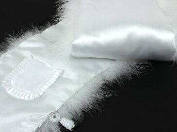 フェザー ショール 振袖 成人式 卒業式 結婚式 白 羽毛 100% 単品 レディース ファーショール 着物 和装 ホワイト 女性 購入 セール対象外 kbうく KZ