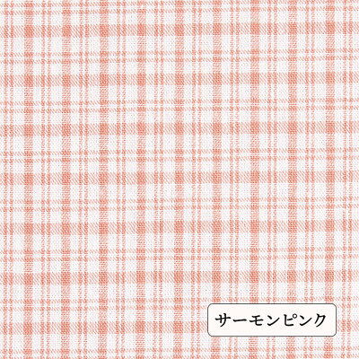 綿ポリダンガリーカントリーチェック品番8000-20【優しいカラー展開☆】【厚:3ハリ:3】