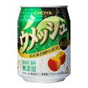 【24本セット】チョーヤ梅酒 ウメッシュ 缶 250ml アルコール分:4%