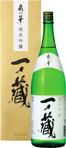 s【送料無料6本入りセット】(宮城)一ノ蔵 純米吟醸 蔵の華 1800ml 箱入り