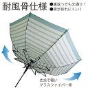 CAMBRIDGE UNIVERSITY POLO CLUB ジャンプ傘 60cm ボーダー柄 [3色]長傘 ケンブリッジポロ レディース 婦人 女性 傘 雨傘 耐風骨 おしゃれ かっこいい かわいい 通勤 通学 折れにくい 丈夫 ブランド 2