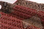 美品イラン製ペルシャ絨毯200万シルク&ウールタブリーズ産マヒ柄手織りカーペットラグ【中古家具/中古インテリア/USED家具ユーズド家具/リサイクル】