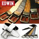 【EDWIN】【ベルト】合皮 メンズ レディース バックル リバーシブ...