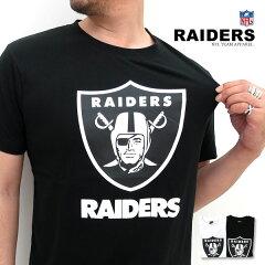 NFL RAIDERS ビッグロゴ Tシャツナショナル フットボール リーグ Tシャツ メンズ RAIDERS ビッ...