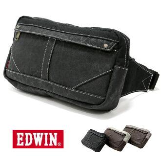 埃德溫EDWIN腰包腰身包身體包人字形秋天冬天秋季商品冬季商品包包埃德溫EDWIN腰包腰身包