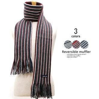 [圍巾][可逆][輕,暖和的經典的BASIC]圍巾人圍巾女士圍巾可逆圍巾喜愛的mafurasutorumafuranekkuuomasutoraipu通勤上學秋天冬天冬天暖[秋天冬天][防寒]