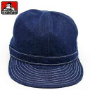 【BEN DAVIS】帽子 メンズ キャップ 帽子 ワーク キャップ デニム 帽子 男女兼用 CAP 調節可能 ベンデイビス【新作】
