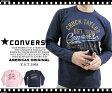 CONVERSE コンバース #3172-5207〜天竺素材〜 『CHUCK TAYLOR』かすれプリント 長袖Tシャツ