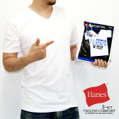 【Hanes】【3枚組】【パックT】Hanes ヘインズ Tシャツ メンズ半袖Tシャツ 半袖Tシャツ ヘインズ 肌着 ヘインズtシャツ スポーツウェア Vネック パックT パックTシャツ HANES SPORTSWEAR 2016SS【新作】3p