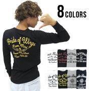 Tシャツ プリント ワッフル カットソー マルカワ サーマル アメリカン インナー ファッション