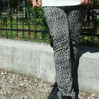 Mesh leggings Leopard print