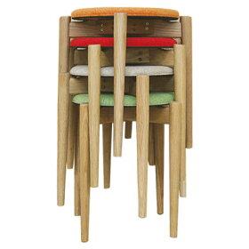 クローバーシリーズスツールスタッキング【送料無料】【在庫あり分即出荷可能】【イエローレッドブラックCGメーカー廃盤】[スツールスタッキングスツールイスチェアー椅子ダイニング木製北欧8色]