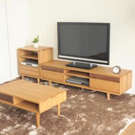 KWシリーズテレビ台テレビボード125150180AVキャビネット[ローボード無垢北欧ウォールナット]【在庫分即出荷可能】※サイズにより価格・送料が変更。ご注文後当店より正しい金額をメールします。