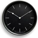 レムノス 電波時計 (棒指標) 掛け時計 RIKI STEEL CLOCK ( リキ スチールクロック )壁掛け時計 掛時計 スイープムーブメント 【送料無料】【●】
