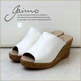 【送料無料】GAIMOGODARDジュートオープントゥサンダル春夏夏夏物レディース靴レディススペイン製履きやすい本皮手作りかわいいナチュラルシンプル暮らし系くらし系くらしけい