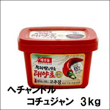 ヘチャンドル コチュジャン 3kg