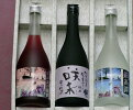 北海道焼酎・梅酒オリジナル720ml3本セットお歳暮ギフトのし包装