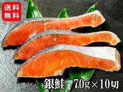 北海道産 天然 秋鮭 10切 / Hokkaido Wild Salmon 10 pieces