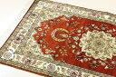 ペルシャ絨毯 & ギャベ (ギャッベ) キリム series じゅうたん 手織り 高級 玄関マット ラグ シルク 緞通 室内用 送料無料 #005 約 92×…