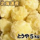 送料無料 越冬じゃがいも とうや 5kg 北海道産 ジャガイモ 産地直送