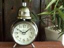 インテリアになる目覚まし時計!アレグロクロック 【ゴールド】 ※定形外可400円