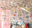 ◆夏物処分◆メール便で送料無料!カフェカーテン幅140cm×丈45cm【プロムナードアパリス】