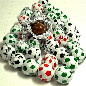 サッカーボールチョコレート