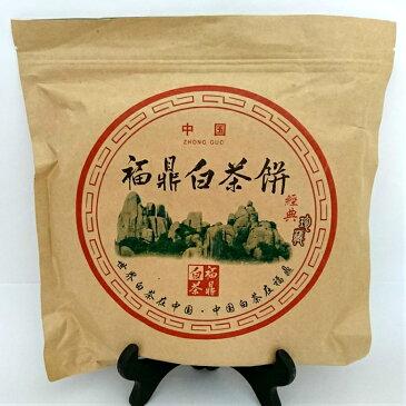 中国茶(2013年 白茶 白牡丹茶 茶餅)50gお試しサイズ1枚でご購入する前に切り崩して50gでお試しバイムーダン送料無料メール便通販 販売店 茶葉中国茶・台湾茶専門店マルメロ