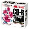 【三菱化学メディア】CD−R <700MB> SR80PP10 10枚[246086]