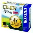 【日立マクセル】CD−RW <700MB> 80MQ.S1P10S 10枚[294689]
