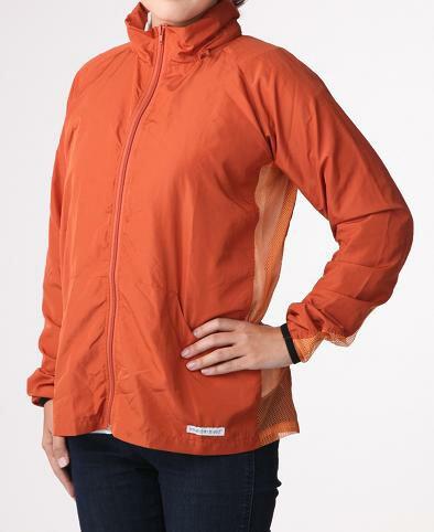 インセクトシールド 虫よけグッズ ファンタスティック虫よけUVジャケット Lサイズ オレンジ 送料無料