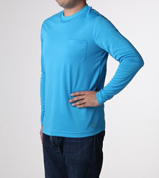 虫よけさらっとTシャツ 長袖 Mサイズ  沖縄・北海道・離島除く