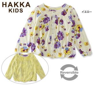 HAKKA KIDS Blossom印刷可逆對襟毛衣■02941471-MG[100-120cm]■4015910