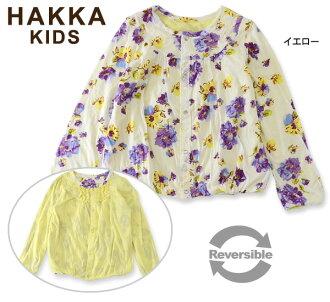 HAKKA KIDS Blossom印刷可逆對襟毛衣■02941571-MG[130.140cm]■4015911