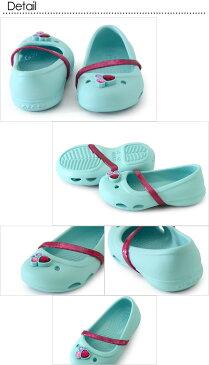 CROCS lina flat kids リナフラットキッズ ■204028-C【キッズ&ベビー 靴 くつ サンダル アウトドア ビーチ 海 クロックス 】■8001471【17ps1】